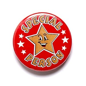 special-person-round-metal-pin-badge