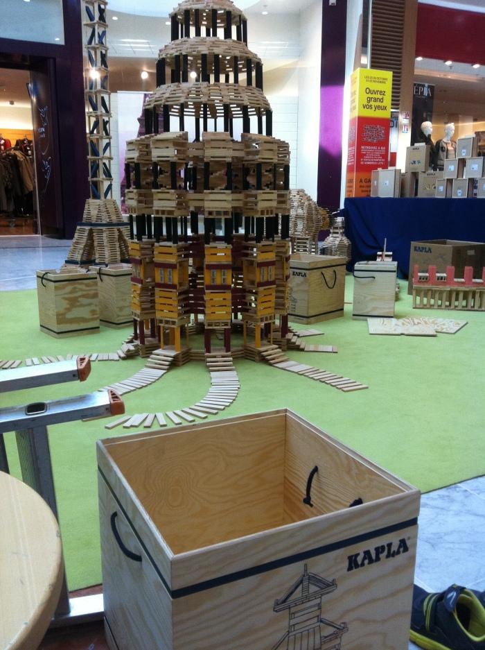 Kapla tower